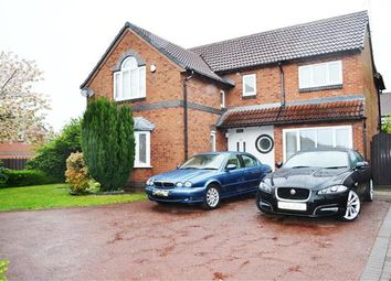 Thumbnail 4 bed detached house for sale in Holden Road, Leigh
