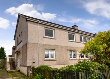 Thumbnail 3 bed flat for sale in Mid Barrwood Road, Kilsyth, Glasgow