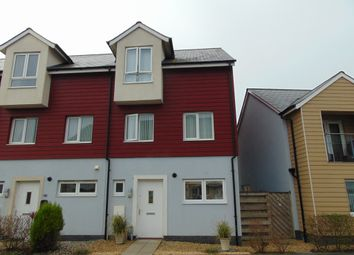 Thumbnail 3 bed town house for sale in Bwlchygwynt, Machynys, Llanelli
