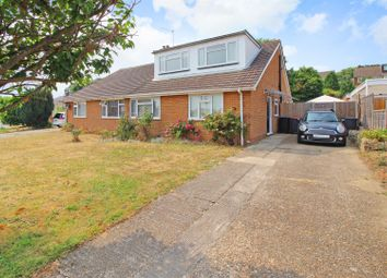 Thumbnail 3 bed semi-detached bungalow for sale in Cedar Road, Sturry, Canterbury