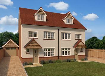 "Thumbnail 4 bedroom end terrace house for sale in ""Grantham End"" at Begbrook Park, Frenchay, Bristol"