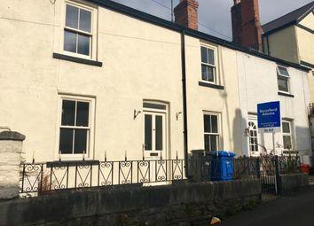 Thumbnail 2 bed terraced house for sale in Love Lane, Denbigh, Denbighshire