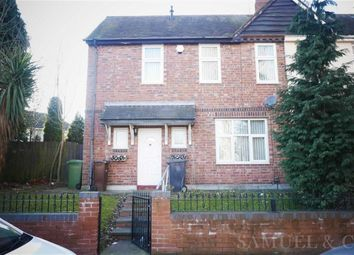 Thumbnail 2 bedroom town house to rent in Poplar Road, Bilston