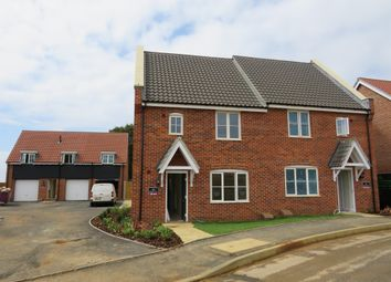 Thumbnail 3 bed semi-detached house for sale in Curlew Close, Hunstanton