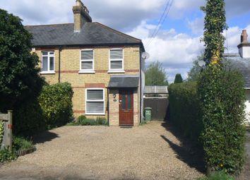 Thumbnail 2 bed semi-detached house for sale in Harrow Road, Knockholt, Sevenoaks