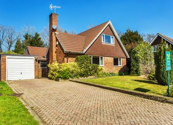 Thumbnail 4 bed detached bungalow for sale in Langsmead, Blindley Heath, Lingfield