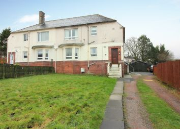 Thumbnail 2 bed flat for sale in Car Road, Cumnock, Ayrshire