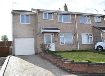 Thumbnail 4 bed semi-detached house for sale in Clifton Close, Swadlincote
