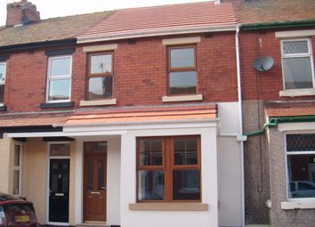 Thumbnail 4 bed terraced house to rent in Gordon Road, Fleetwood