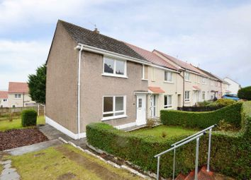 Thumbnail 2 bed end terrace house for sale in Woodhall Avenue, Coatbridge, North Lanarkshire