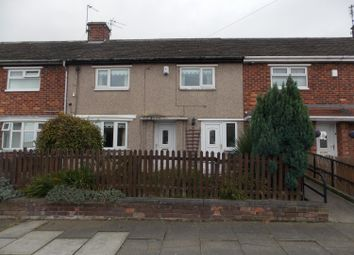 Thumbnail 3 bedroom terraced house to rent in Evesham Road, Park End, Middlesbrough