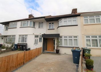 Thumbnail 4 bed terraced house to rent in Raeburn Road, Edgware, Middlesex