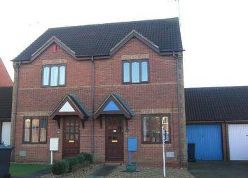 Thumbnail 2 bedroom semi-detached house to rent in Granary Road, East Hunsbury, Northampton