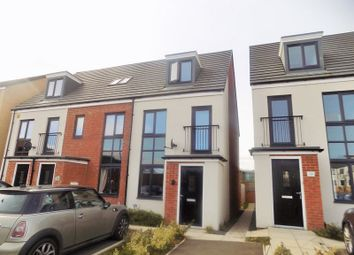 Thumbnail 3 bed terraced house to rent in Elmwood Park Court, Great Park, Gosforth
