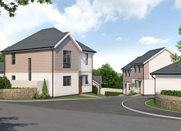 Thumbnail 4 bed detached house for sale in Point Road, Carnon Downs, Truro
