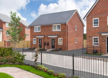 "Thumbnail 2 bedroom semi-detached house for sale in ""Washington"" at Orchid Green, Northwich"