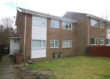 Thumbnail 2 bed flat for sale in Mitford Close, Washington