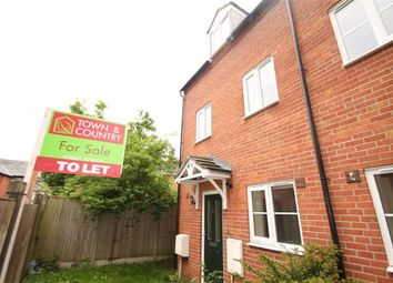 Thumbnail 3 bed end terrace house for sale in Swan Lane, Oswestry