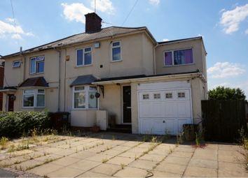 Thumbnail 3 bedroom semi-detached house for sale in Wingfoot Avenue, Wolverhampton