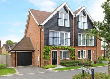 Thumbnail 4 bed semi-detached house for sale in Alderbank Drive, Godalming, Surrey
