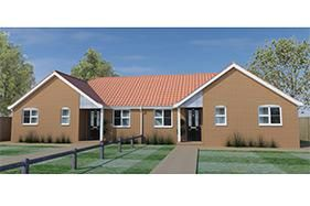 Thumbnail 2 bedroom bungalow for sale in Downham Market, Norfolk
