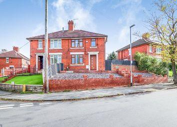 Thumbnail 3 bedroom semi-detached house for sale in Corneville Road, Bucknall, Stoke-On-Trent