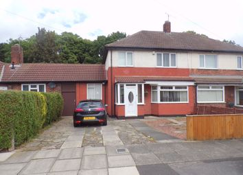 Thumbnail 3 bed semi-detached house for sale in Commondale Avenue, Stockton-On-Tees
