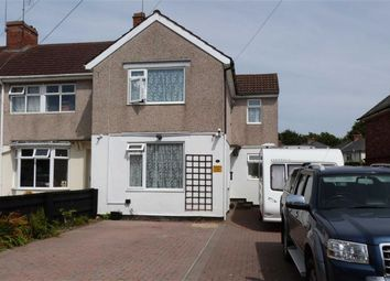 Thumbnail 3 bed end terrace house for sale in Linden Avenue, Swindon
