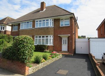 Thumbnail 3 bedroom semi-detached house for sale in Luccombe Road, Upper Shirley, Southampton