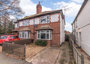 Thumbnail 3 bed semi-detached house for sale in Kings Head Lane, Byfleet, West Byfleet