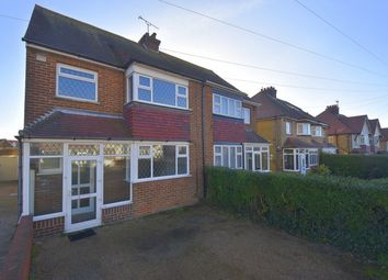 Thumbnail 3 bed semi-detached house for sale in Rosemary Avenue, Broadstairs