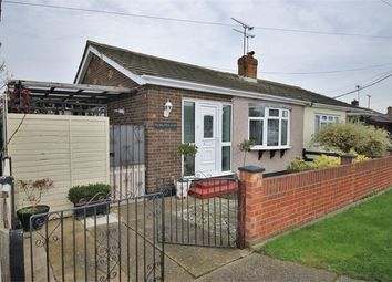 Thumbnail 1 bed semi-detached bungalow to rent in Miltsin Avenue, Canvey Island, Essex