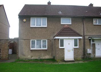 Thumbnail 3 bed semi-detached house for sale in Markham Walk, Corby