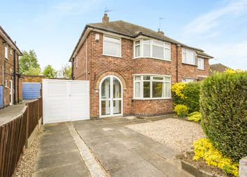 Thumbnail 3 bed semi-detached house for sale in Bramcote Road, Wigston