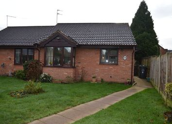 Thumbnail 2 bed bungalow for sale in Goosefield Close, Market Drayton