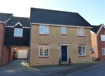 Thumbnail 5 bedroom link-detached house for sale in Cornet Close, Thorpe St. Andrew, Norwich