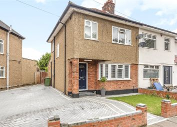 Thumbnail 3 bed semi-detached house for sale in Sussex Road, Ickenham, Uxbridge, Middlesex