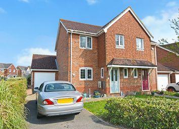 Thumbnail 3 bed semi-detached house for sale in Harrow Way, Kingsnorth, Ashford