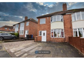 Thumbnail 2 bed semi-detached house to rent in Manor Avenue, Derby