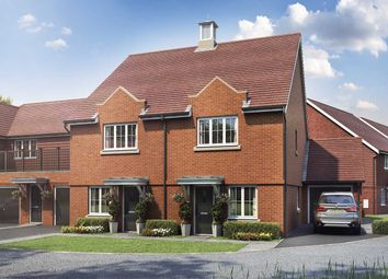 "Thumbnail 3 bed semi-detached house for sale in ""The Monarch"" at Old Bisley Road, Frimley, Surrey, Frimley"