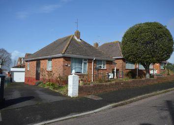 Thumbnail 2 bed detached bungalow for sale in Elmfield Crescent, Exmouth, Devon