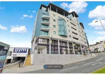 Thumbnail 1 bed flat to rent in Ocean Crescent, Plymouth