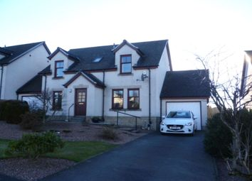 Thumbnail 4 bed detached house to rent in Latch Burn Wynd, Dunning, Perth