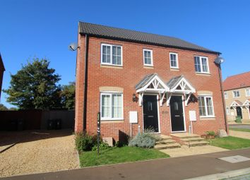 Thumbnail 2 bed semi-detached house for sale in Willow Tree Close, West Lynn, King's Lynn