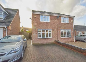 Sycamore Close, Burbage, Hinckley LE10. 2 bed semi-detached house for sale