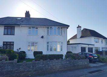 Thumbnail 3 bed semi-detached house for sale in Min Y Mor, Garden Suburb, Barry