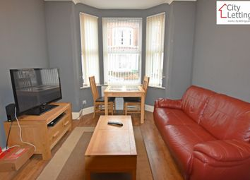 Thumbnail 6 bed terraced house to rent in Johnson Road, Nottingham