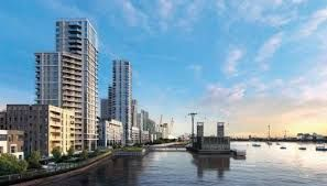 Thumbnail 1 bed flat for sale in Greenwich Peninsula, Edmund Halley Way, London