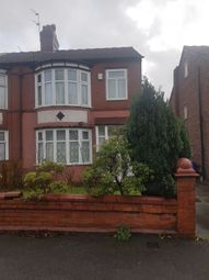 Thumbnail 3 bed semi-detached house to rent in Kingsway, Manchester, Greater Manchester
