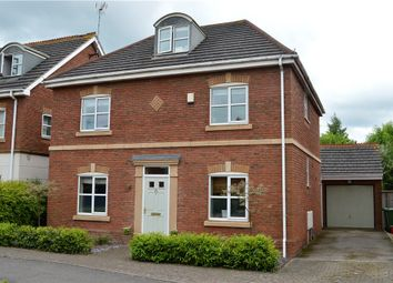 Thumbnail 4 bed detached house for sale in Juliet Drive, Heathcote, Warwick